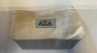 The New Super Savings - Alpha Kappa Alpha Cosmetic Pouch - GREY 1 of 7