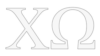 Chi Omega Stickers & Decals   Greek Gear