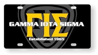 Gamma Iota Sigma License Cover