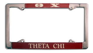 Theta Chi License Plate Frame
