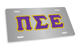 Pi Sigma Epsilon Lettered License Cover