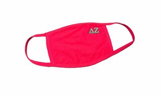 Delta Zeta Applique Face Masks