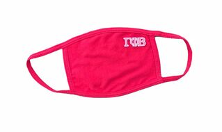 Gamma Phi Beta Applique Face Masks