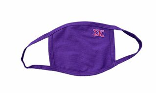 Sigma Kappa Applique Face Masks