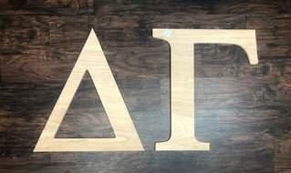 Super Savings - Delta Gamma Wooden Letters - WOOD - HUGE