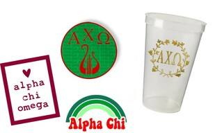 Alpha Chi Omega Sorority Large Pack $15.00