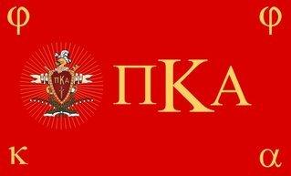 Pi Kappa Alpha Flag Decal Sticker