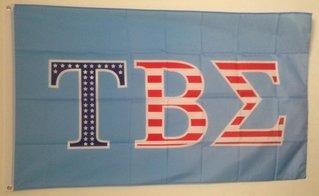 Tau Beta Sigma Patriotic Flag