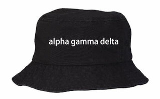 Alpha Gamma Delta Bucket Hat