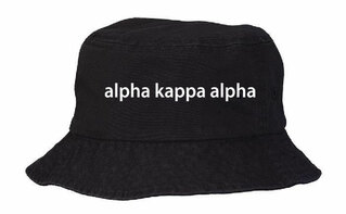 Alpha Kappa Alpha Bucket Hat