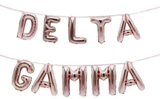 Delta Gamma Banner Balloon Set
