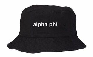 Fraternity & Sorority Custom Bucket Hat