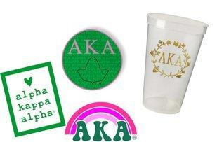 Alpha Kappa Alpha Sorority Large Pack $15.00