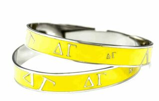 Delta Gamma Yellow Bangle