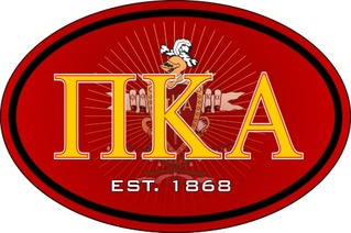 Pi Kappa Alpha Color Oval Decal