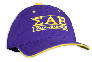 Sigma Alpha Epsilon Throwback Game Hat