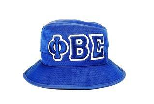 Phi Beta Sigma Embroidered Bucket Hat