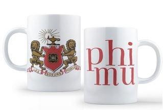 Phi Mu Crest - Shield Coffee Mug