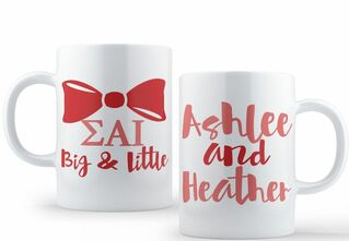 Sigma Alpha Iota Big & Little Coffee Mug