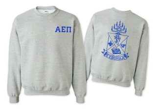Alpha Epsilon Pi World Famous Crest - Shield Crewneck Sweatshirt- $25!