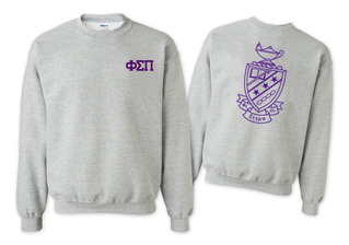 Phi Sigma Pi World Famous Crest - Shield Crewneck Sweatshirt- $25!