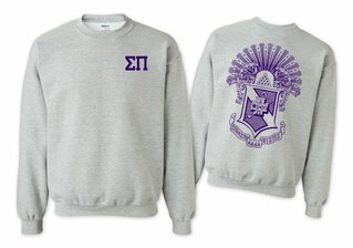Sigma Pi World Famous Crest - Shield Crewneck Sweatshirt- $25!
