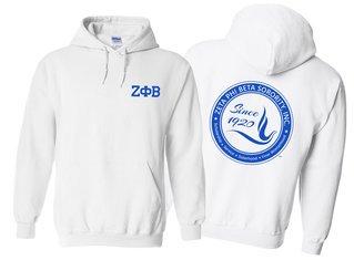 Zeta Phi Beta World Famous Crest - Shield Hooded Sweatshirt- $35!