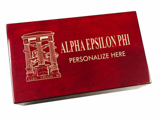 Alpha Epsilon Phi Engraved Gavel Set