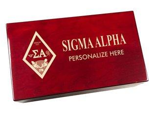 Sigma Alpha Engraved Gavel Set