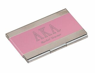 Alpha Kappa Alpha Business Card Holder