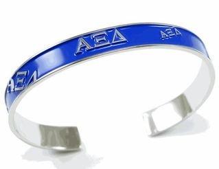 Alpha Xi Delta Dark Blue Bracelet