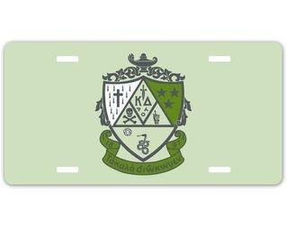 Kappa Delta Crest - Shield License Cover