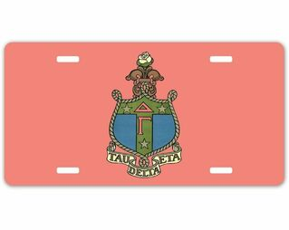 Sorority Crest - Shield License Plate