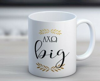 Alpha Chi Omega Big Coffee Mug
