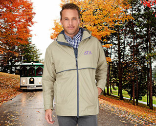 Delta Tau Delta Men's New Englander� Rain Jacket