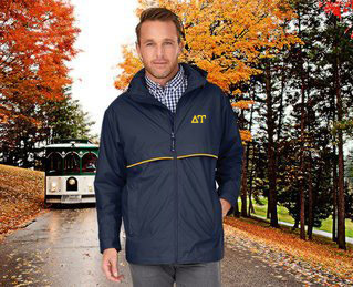 Delta Upsilon Men's New Englander� Rain Jacket