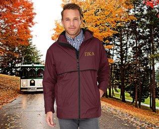 Pi Kappa Alpha Men's New Englander� Rain Jacket