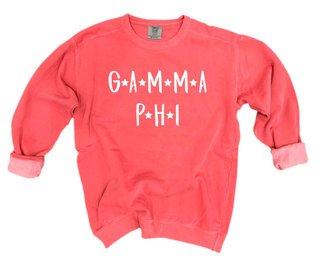 Gamma Phi Beta Comfort Colors Starry Night Crew