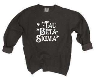 Tau Beta Sigma Comfort Colors Old School Custom Crew