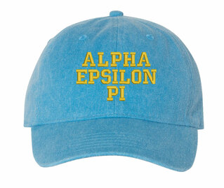 Alpha Epsilon Pi Comfort Colors Pigment Dyed Baseball Cap