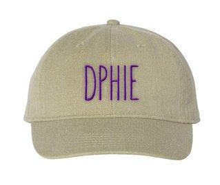Delta Phi Epsilon Mod Pigment Dyed Baseball Cap
