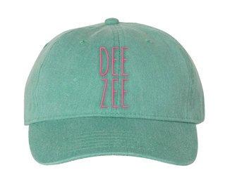 Delta Zeta Mod Pigment Dyed Baseball Cap