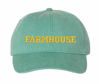 FARMHOUSE Comfort Colors Pigment Dyed Baseball Cap