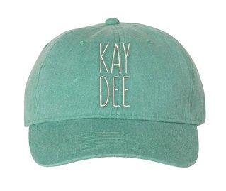 Kappa Delta Mod Pigment Dyed Baseball Cap