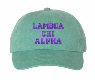 Lambda Chi Alpha Pigment Dyed Baseball Cap