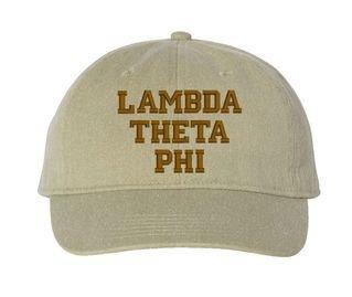 Lambda Theta Phi Pigment Dyed Baseball Cap