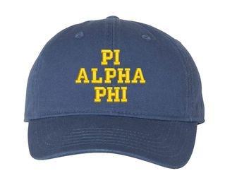 Pi Alpha Phi Pigment Dyed Baseball Cap