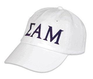 Sigma Alpha Mu Letter Hat