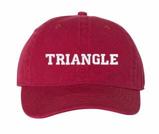 Triangle Pigment Dyed Baseball Cap