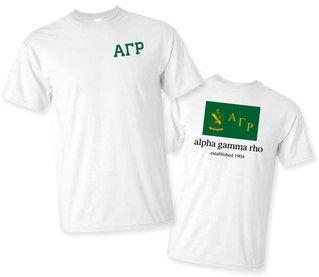 Alpha Gamma Rho Flag T-Shirt
